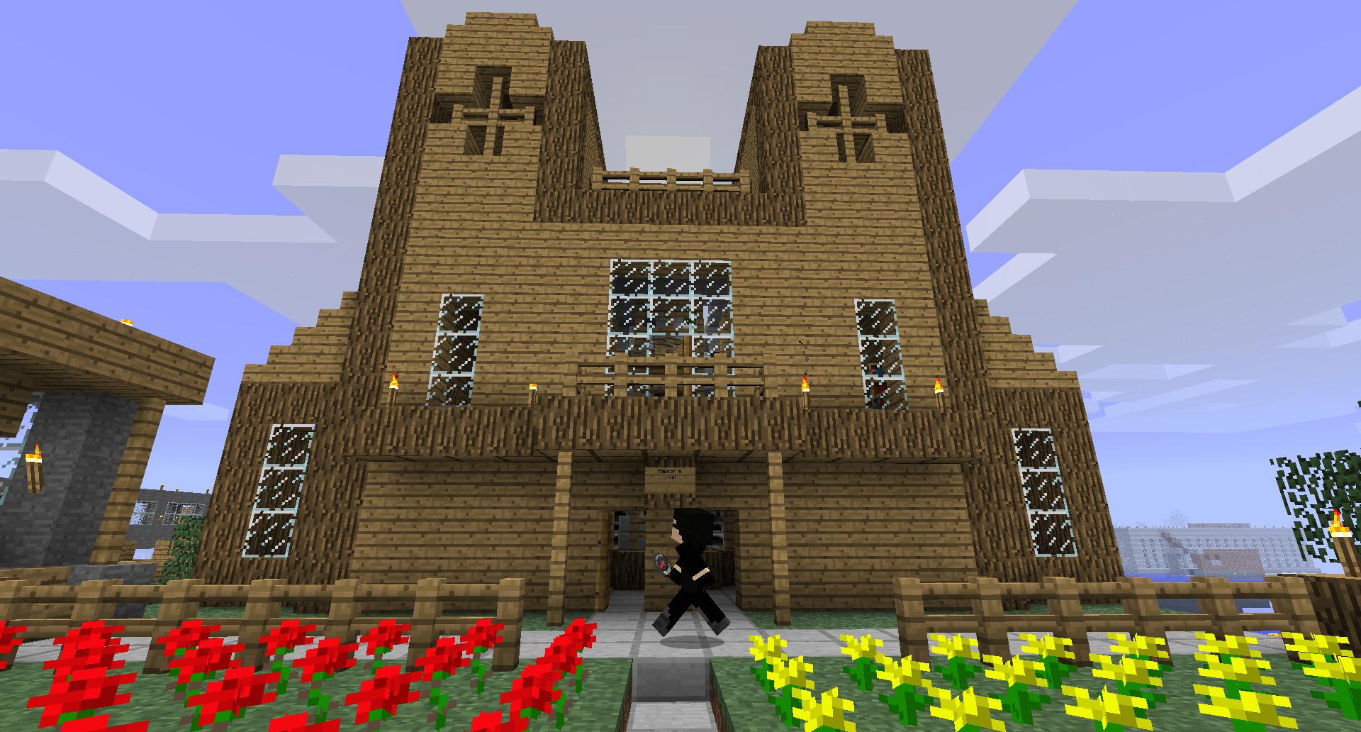 La Maison de moribus sur la V2.