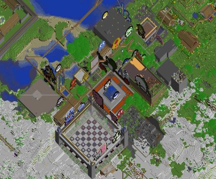 Vue de la carte interactive
