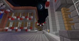 Place de la mairie à Noël