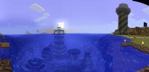 Vue panoramique depuis la rive