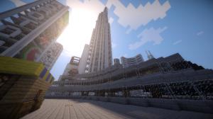 La tour la plus haute du monde de Zcraft.