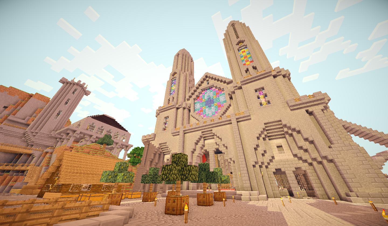 L'extérieur de la cathédrale