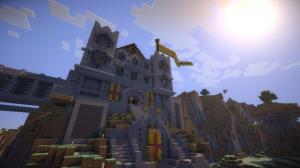 Le château a été rebâti.