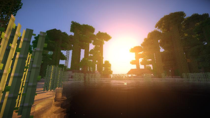 Quel beau coucher de soleil sur le lac... à moins qu'il ne se lève ?