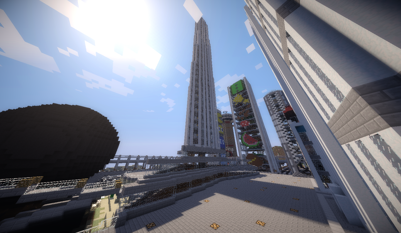 Grand soleil sur le Burj Khalifa