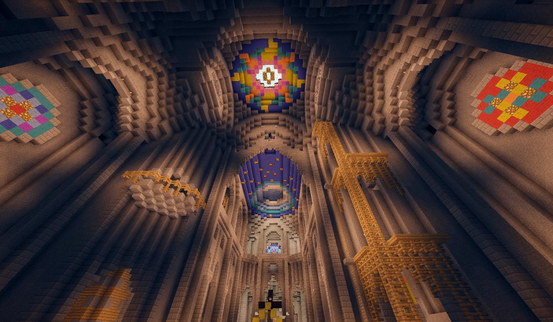 Les voûtes de la cathédrale