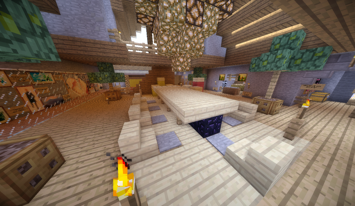 Carte v5 ch teaux zcraft for Salle a manger minecraft